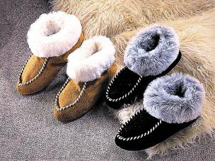 Eskimo-Slipper, beige 37-38