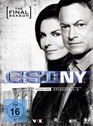 CSI: NY - Staffel 9.1 (3 DVDs)