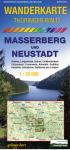 Wanderkarte: Thüringer Wald Masseberg und Neustadt